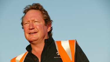 Andrew Forrest's Fortescue Metals Group has reported its export statistics for the March quarter.