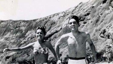 Heartbreak ... Elvis in the abysmal Blue Hawaii.
