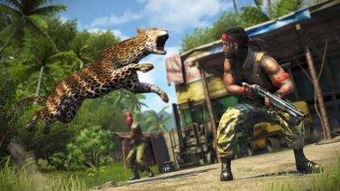 A screenshot from <em>Far Cry 3</em>.