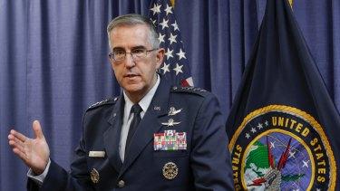 John Hyten, commander of the United States Strategic Command.