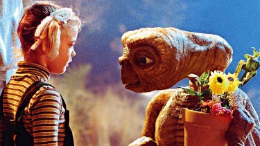Hold the phone ... a young Drew Barrymore in <em>E.T.</em>