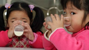 Number of girls rebounding ... a new study has found the ratio of boys to girls in South Korea is becoming more even.