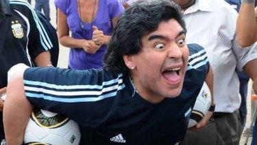 Controversial ... Diego Maradona.