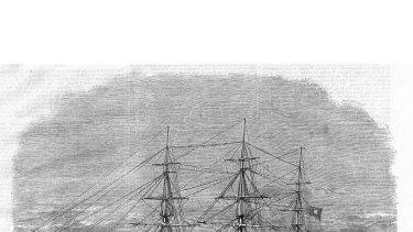 The CSS Shenandoah.