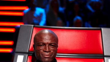 Seal on Nine's The Voice.