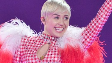 Show won't go on: Miley Cyrus was to headline the iHeartRadio festival.