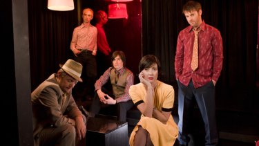 Aussie folk band The Audreys will appear at Brisbane Festival's Spiegeltent program.