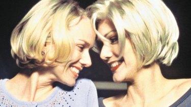 Oscar-nominated: Naomi Watts and Laura Elena Harring in <i>Mulholland Drive</i>.