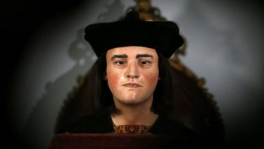A facial reconstruction of King Richard III.