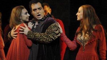 Gianluca Terranova as the Duke of Mantua.