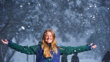 The cold conditions are good news for snow lovers at Mount Buller.