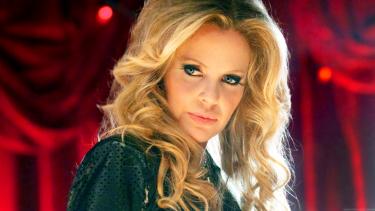 Kristen Bauer van Straten played sexy vampire Pam in HBO series True Blood.