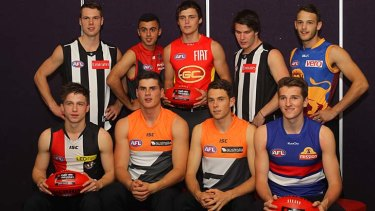 AFL draftees at top of private school class
