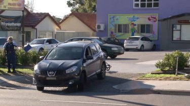 The accident happened in the driveway of a childcare centre.