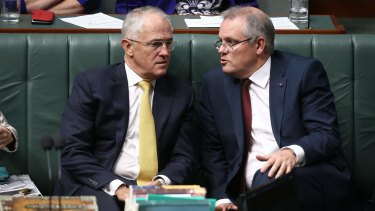 What will they do? Prime Minister Malcolm Turnbull and Treasurer Scott Morrison.