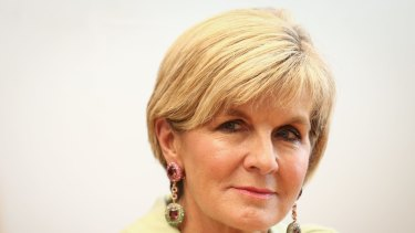 Foreign Minister Julie Bishop nominated the empowerment of women globally as one of the issues Australia would pursue.