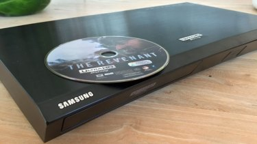 Samsung's Ultra HD Blu-ray player is the first in Australian stores as movies start to appear on the shelves.