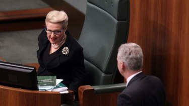 Speaker Bronwyn Bishop has drawn criticism for her lack of control in the House of Representatives.