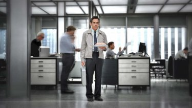 Daydream believer ... Stiller plays a meek magazine photo editor in <i>The Secret Life of Walter Mitty</i>.