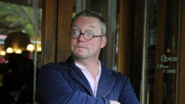 Fergus Henderson at the European in Melbourne last week.