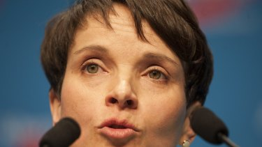 Head of Alternative for Germany, Frauke Petry.