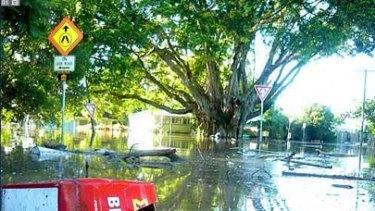 Flooding in Milton