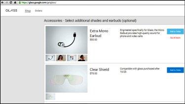 The Google Glass accessory store.
