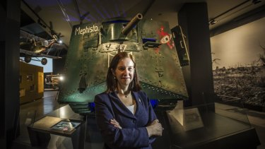 Director of the Queensland Museum Suzanne Miller has bought the rare German tank Mephisto to display at the Australian War Memorial.