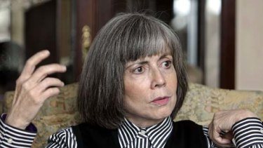 Author Anne Rice ... troubled by child abuse scandals.