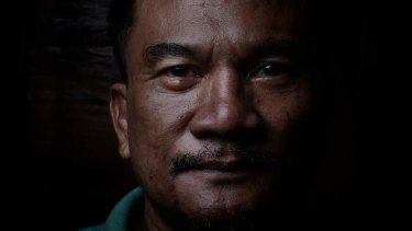 Leader of the pack: Agung Ari, a leader of the Laskar Bali gang.