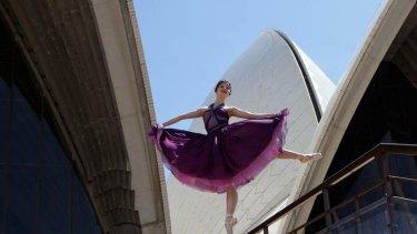 Lights up the stage: Corps de ballet dancer Benedicte Bemet.