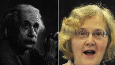 Dreamers ... Albert Einstein, and Australian-born Nobel-prize winner Elizabeth Blackburn.