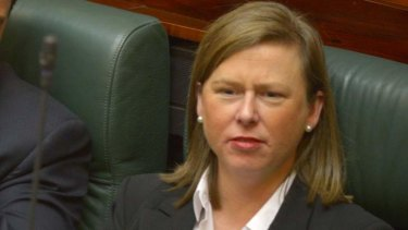 MP Elizabeth Miller says she is merely supporting her local constituents.