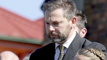Brisbane father Gerard Baden-Clay has been charged with his wife's murder a month after her funeral.