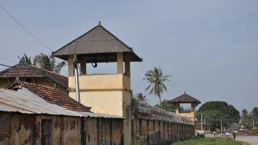 A Cambodian prison.