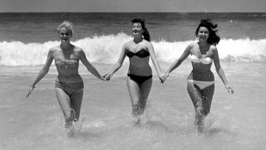The good old (hairier) days: Bikini lines were rarely tampered with when swimsuits were less revealing - as in the '60s. In the '80s, high-cut swimsuits prompted drastic waxing action.