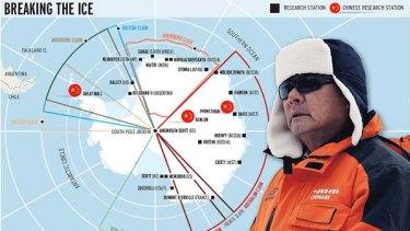 Wei Wenliang, head of China's Antarctic program.