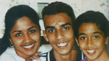 The murdered Singh siblings, from left, Neelma, 24, Kunal, 18, and Sidhi, 12.