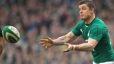 Brian O'Driscoll suffered a concussion during Ireland's narrow loss to the All Blacks.