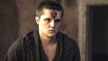 Justice (Lancel Lannister) is being imparted on royalty is seems.