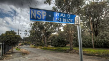 Warrandyte NSP Place of Last Resort, where people will be directed as a last resort in a bush fire.