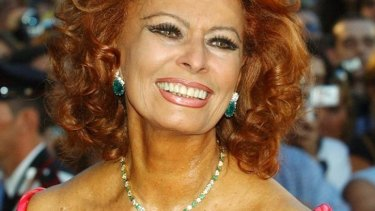 The real thing: Sophia Loren told Hollywood 'I don't want to change' when it was suggested she should have a bit of work.