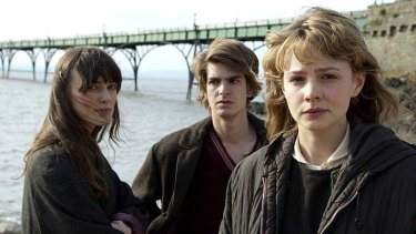 Monstrous destiny ...  Carey Mulligan, right, with Keira Knightley and Andrew Garfield, is unforgettable in this role.