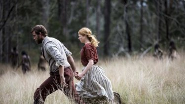 Set along the Hawkesbury River in 1813, <i>The Secret River</i> tells the story of pardoned convict Will Thornhill (Oliver Jackson-Cohen) and his wife Sal (Sarah Snook).