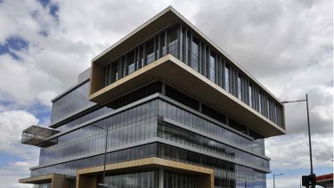 Dandy landmark: The state government services building has a six-star green rating.