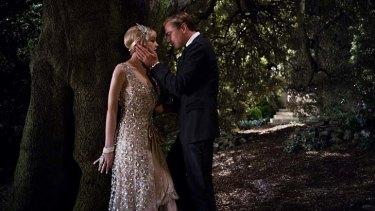 Instant chemistry: Carey Mulligan and Leonardo DiCaprio as Daisy and Gatsby.