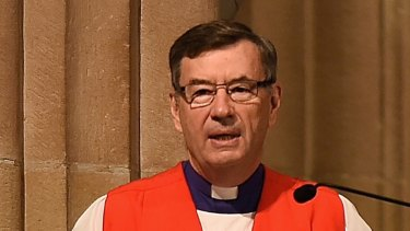 "Anglican Archbishop of Sydney Glenn Davies supports the ""no"" campaign."