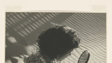 Olive Cotton Girl with mirror 1938 gelatin silver photograph  National Gallery of Australia, Canberra Purchased 1987