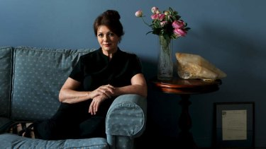Fed up: Remedial massage therapist Petrina Steer.