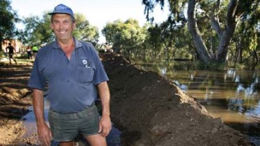 Richard Wilken instigated and oversaw the building of a levee on both sides of the swollen Yarriambiack Creek in Warracknabeal.